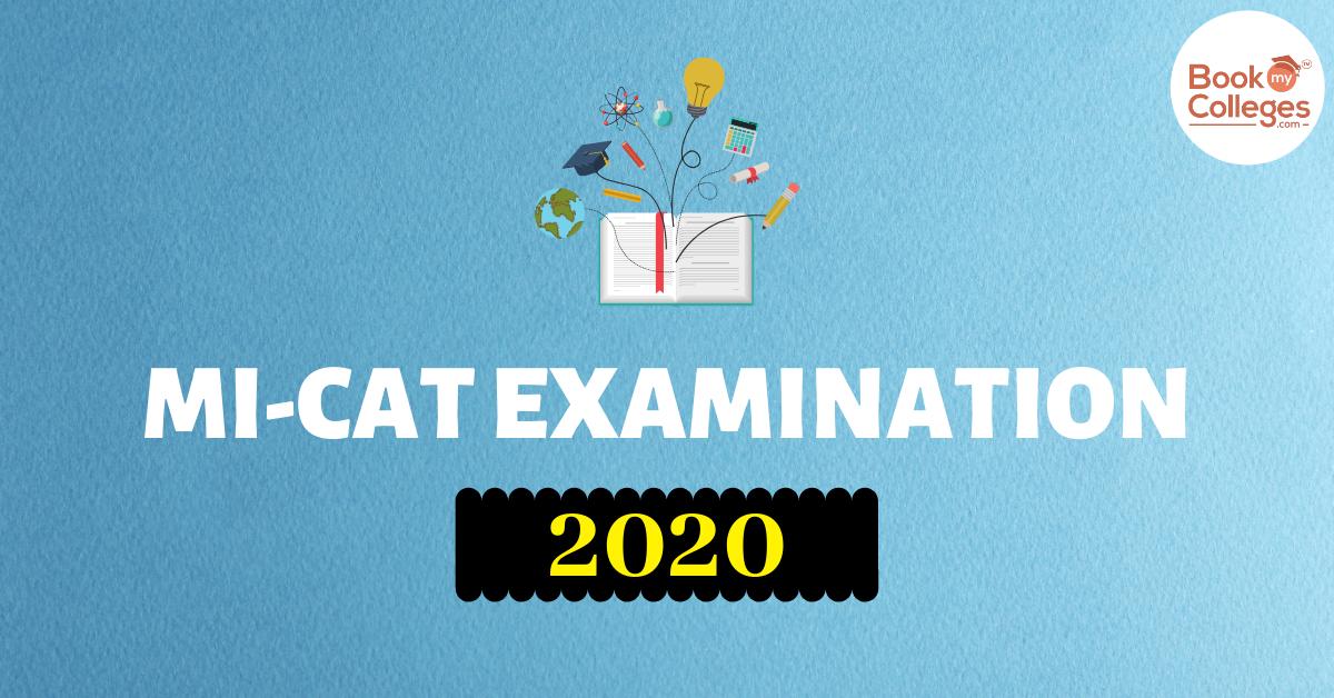 MICAT 2020 Exam